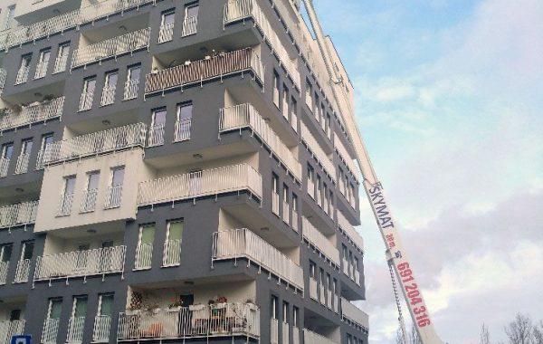 Prace przy budynkach mieszkalnych